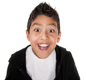 Very Happy Youngster stock image