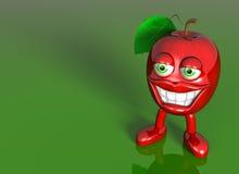 Very healthy apple Royalty Free Stock Photos