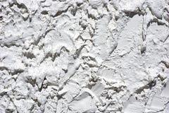 Very heavily stucco exterior wall Stock Image