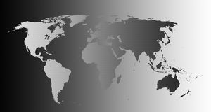 Very high detailed world map stock images