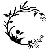 Very high quality original trendy  vector illustration of floral Stock Image