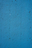 Blue Painted wood. Stock Photography