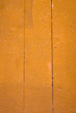 Yellow Painted wood. Stock Photography