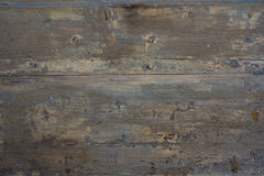 Blue and used Painted wood. Royalty Free Stock Photos