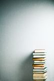 Very high stack of books Stock Image