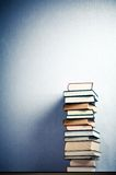 Very high stack of books Stock Images