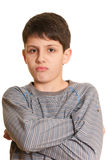 Very important boy Royalty Free Stock Images