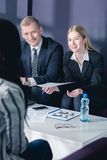 Very important business meeting Royalty Free Stock Photography
