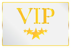 Very Important Person Card. Vector Illustration royalty free illustration