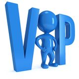 Very important person 3D Royalty Free Stock Images
