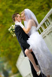 Very intimate kiss Royalty Free Stock Image