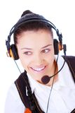 A very kind telephone operator Royalty Free Stock Photography