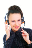 A very kind telephone operator Stock Photos