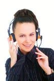 A very kind telephone operator Stock Photos