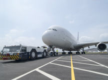 Very large airplane Royalty Free Stock Photos