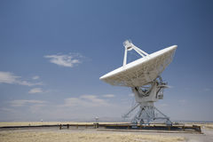 Very Large Array. Several of the 27 independent antennas pointed skyward at the Very Large Array (VLA) National Radio Astronomy observatory near Socorro, New stock photos