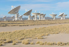 Very Large Array. National Radio Astronomy Observatory (NRAO) Very Large Array radio astronomy observatory Stock Photos