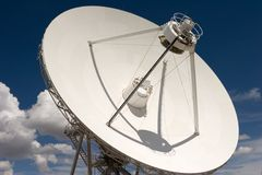 Very Large Array. VLA part in New Mexico Royalty Free Stock Photo