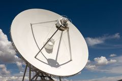 Very Large Array. VLA part in New Mexico Royalty Free Stock Image