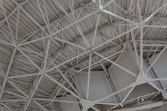 Very Large Array konstruował strukturę wspiera wielkiego naczynie z trusses fotografia stock