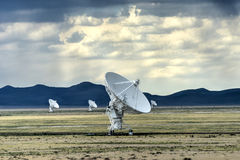 Very Large Array - New Mexico Royalty Free Stock Images