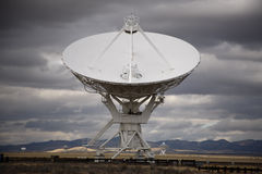 The Very Large Array. One of the world's premier astronomical radio observatories, consists of 27 radio antennas in a Y-shaped configuration on the Plains of Royalty Free Stock Photos