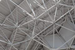 Very Large Array prawdziwy zamknięty widok understructure ogromna radiowego teleskopu antena, technologii inżynieria fotografia royalty free