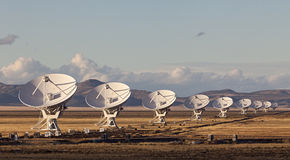 Free Very Large Array Radio Telescope Royalty Free Stock Photos - 35263148
