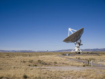 Very Large Array Radio Telescope Stock Image