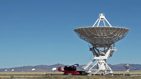 Very Large Array Radio Telescope Royalty Free Stock Photography