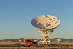 Very Large Array Radio Telescope Stock Photo