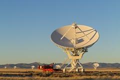 Very Large Array Radio Telescope Stock Photo