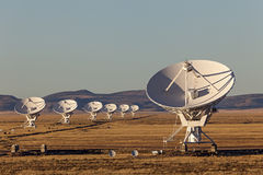 Very Large Array Radio Telescope Stock Photography