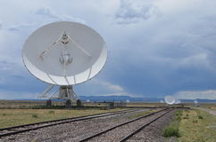Very Large Array satellite dishes, USA Stock Photo
