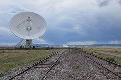 Very Large Array satellite dishes, USA Royalty Free Stock Photography