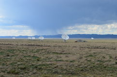 Very Large Array satellite dishes, USA Stock Image