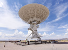 A Very Large Array Scene in New Mexico Royalty Free Stock Photos