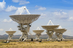 A Very Large Array Scene in New Mexico Royalty Free Stock Photo