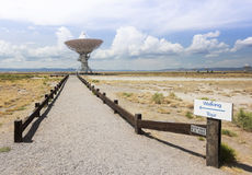 A Very Large Array Scene in New Mexico Stock Images