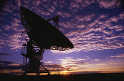 Very Large Array in Socorro, NM stock photography
