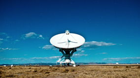 Very Large Array Space Radio Dish VLA Observatories - Time Lapse - 4k. Time Lapse of the Very Large Array in New Mexico stock video footage