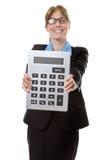 Very large calculator Stock Image