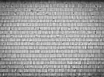 Very large cedar wood wall Royalty Free Stock Photo