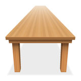 Very Large Empty Table Long Festive Royalty Free Stock Photo