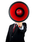 Very large megaphone Stock Images