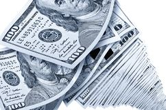 Lot of money in US dollars. Royalty Free Stock Photo