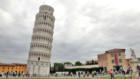 A very leaning tower of Pisa. Royalty Free Stock Photo