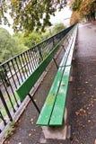 Very long bench royalty free stock photos