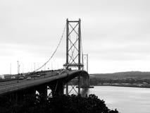 Very long bridge at Port Edgar Stock Photos