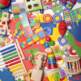 Very many toys Royalty Free Stock Images